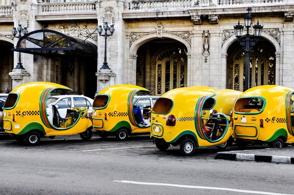 Coco Taxi, Mexico